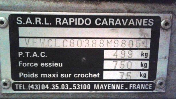 A vendre Conformatic 1988 très bon état Plaque10