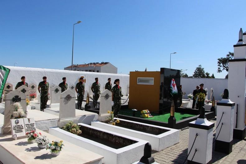 Vendas Novas: Cerimónia de homenagem aos antigos combatentes falecidos 0110