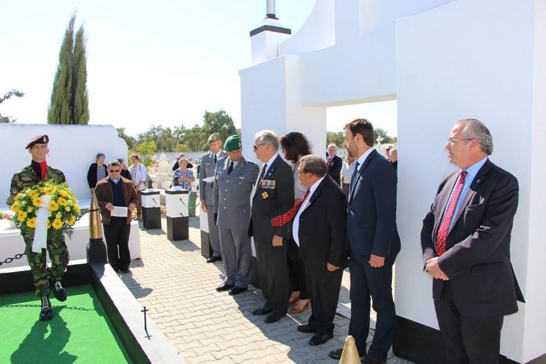 Vendas Novas: Cerimónia de homenagem aos antigos combatentes falecidos 0310