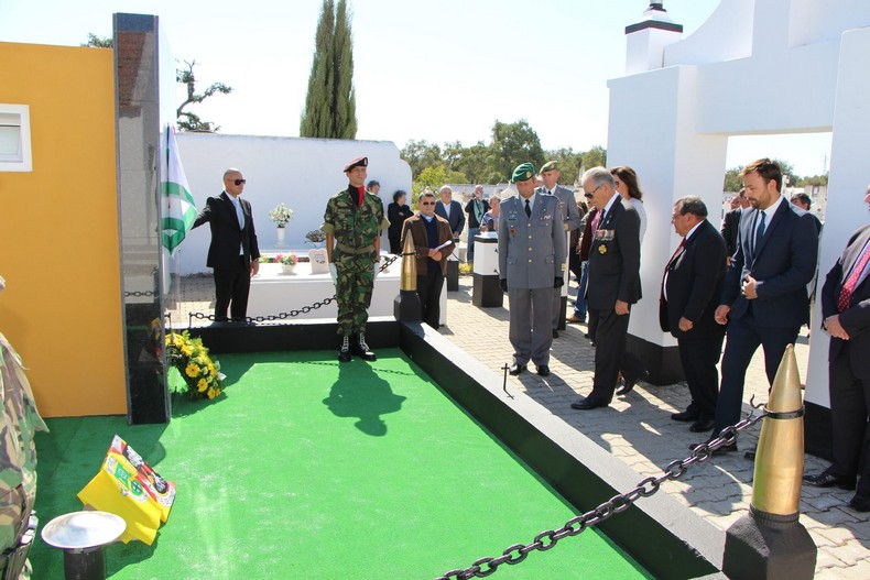 Vendas Novas: Cerimónia de homenagem aos antigos combatentes falecidos 0510