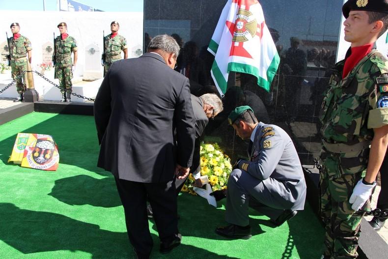 Vendas Novas: Cerimónia de homenagem aos antigos combatentes falecidos 0610