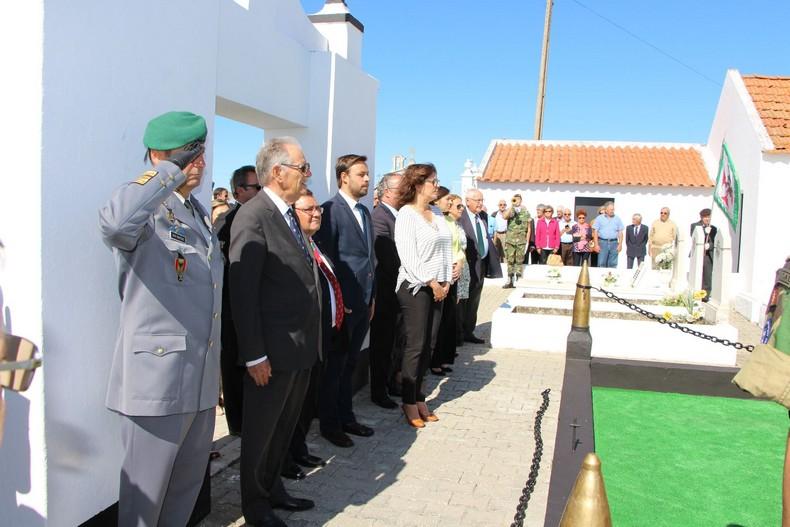 Vendas Novas: Cerimónia de homenagem aos antigos combatentes falecidos 0710