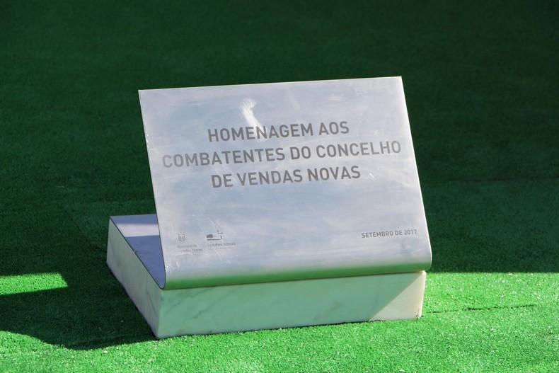 Vendas Novas: Cerimónia de homenagem aos antigos combatentes falecidos 1110