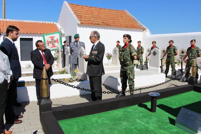 Vendas Novas: Cerimónia de homenagem aos antigos combatentes falecidos 1210