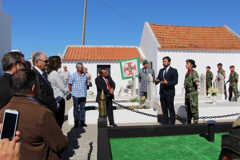 Vendas Novas: Cerimónia de homenagem aos antigos combatentes falecidos 1310