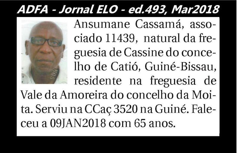 Notas de óbito publicadas no jornal «ELO», da ADFA, Março de 2018 Ansuma10