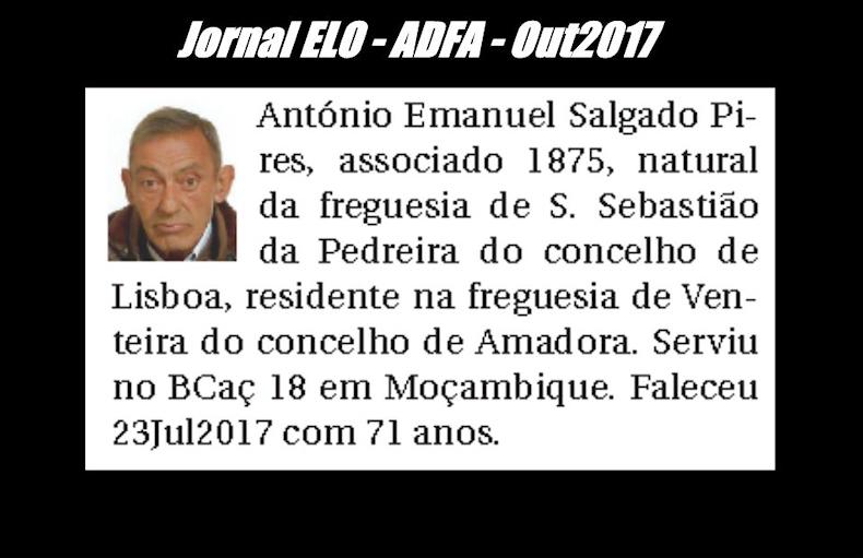Notas de óbito publicadas no jornal «ELO», da ADFA, de Outubro de 2017 Antoni11