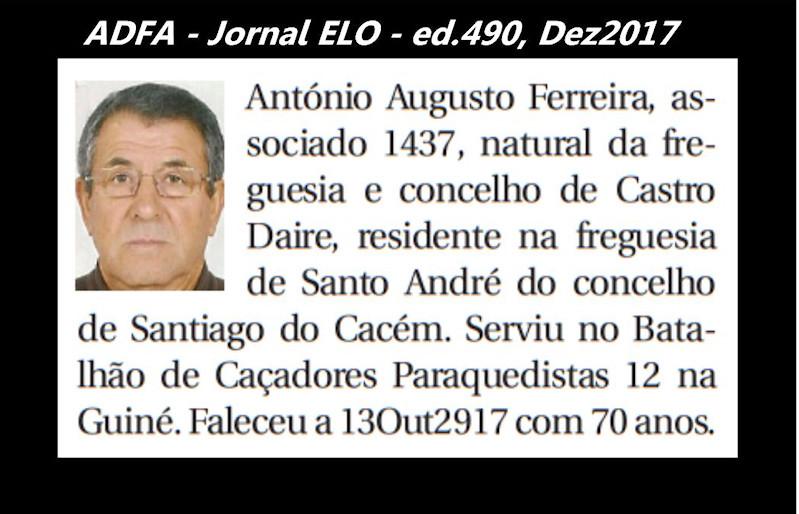 Notas de óbito publicadas no jornal «ELO», da ADFA, de Dezembro de 2017 Antyni14