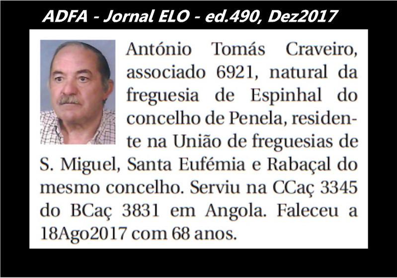 Notas de óbito publicadas no jornal «ELO», da ADFA, de Dezembro de 2017 Antyni15