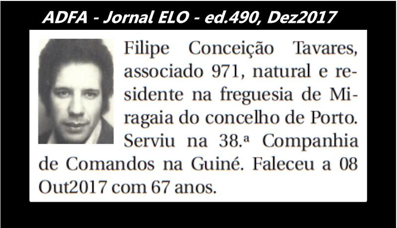 Notas de óbito publicadas no jornal «ELO», da ADFA, de Dezembro de 2017 Filipe10