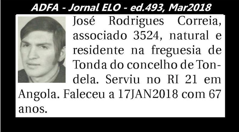 Notas de óbito publicadas no jornal «ELO», da ADFA, Março de 2018 Jose_r10