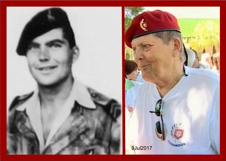 Faleceu o veterano José Manuel Rodrigues, 1.º Cabo 'CMD', do GrCmds «GATOS»/BArt400 - 02Mar2018 Josema14
