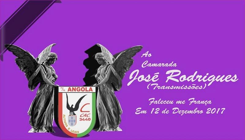 Faleceu o veterano José Rodrigues, da CCac3440/BCac3856 - 12Dez2017 Josero10