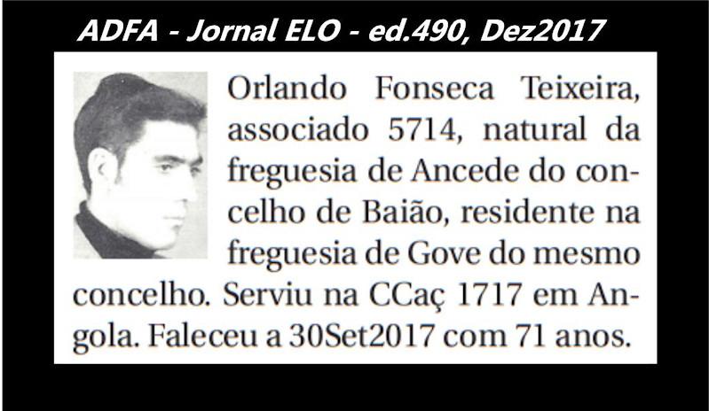Notas de óbito publicadas no jornal «ELO», da ADFA, de Dezembro de 2017 Orland10