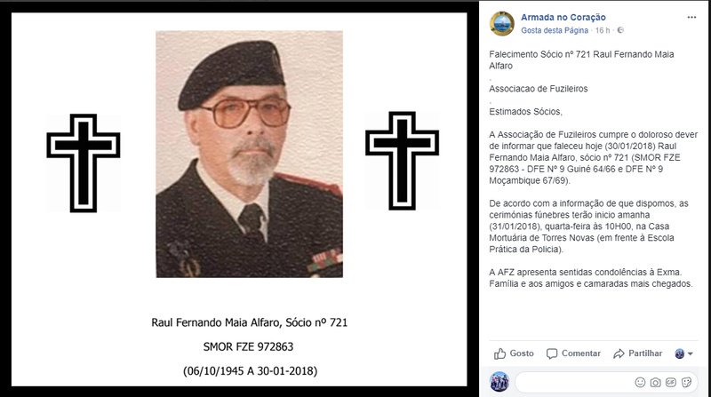 Faleceu o veterano Raul Fernando Maia Alfaro, SMORFZE - 30Jan2018 Raul_f11