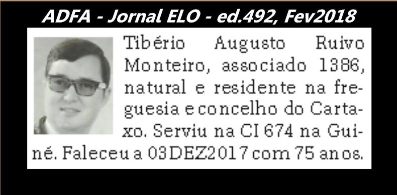 Notas de óbito publicadas no jornal «ELO», da ADFA, Janeiro e Fevereiro de 2018 Tiberi10
