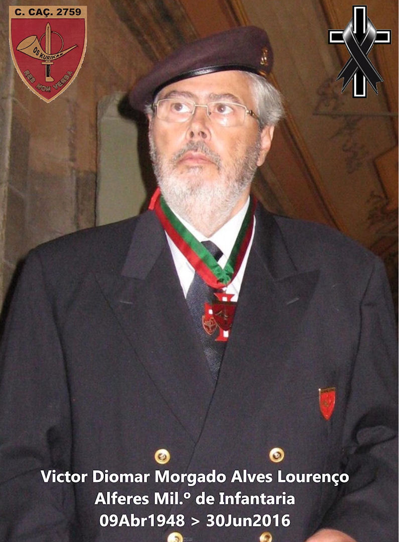 Recordando Victor Diomar Morgado Alves Lourenço ... fazia hoje, 9 de Abril, 70 anos Victor11