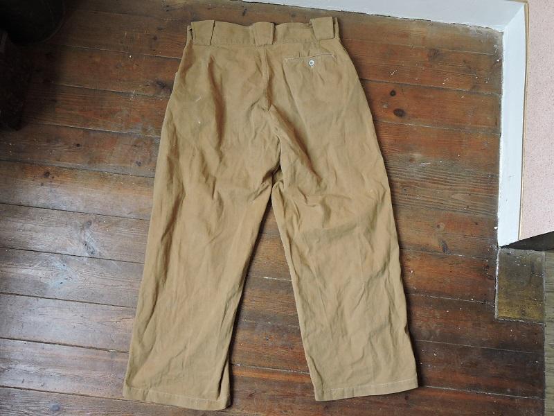 Pantalon droit de toile français à identifier Dscn5615