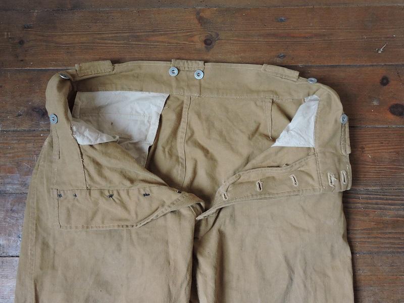 Pantalon droit de toile français à identifier Dscn5616