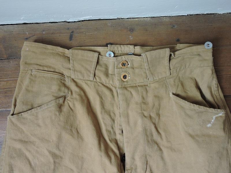 Pantalon droit de toile français à identifier Dscn5618