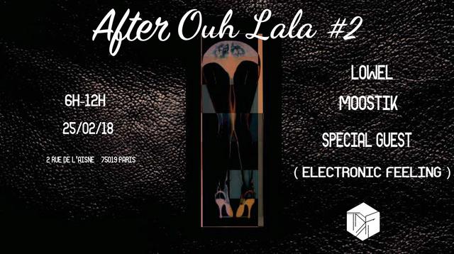 After Ouh La La! 25 / 02 /18 - 6h -Techno (Paris 19) After_10