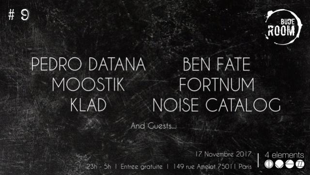 Bude Room 9: House * Techno: 17/11/17 - 4 Eléments (Paris) Bude_r10
