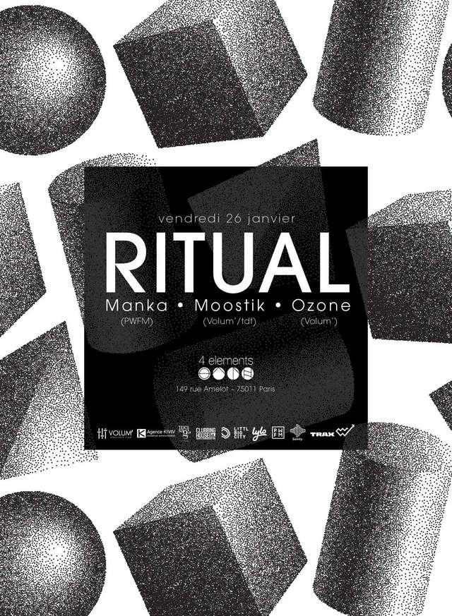 Ritual:Manka (PWFM), Moostik & Ozone - 26/01/18 - 4 Eléments Ritual10