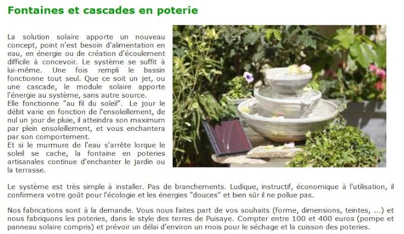 Fontaines et autres cascades de jardin Cascad10