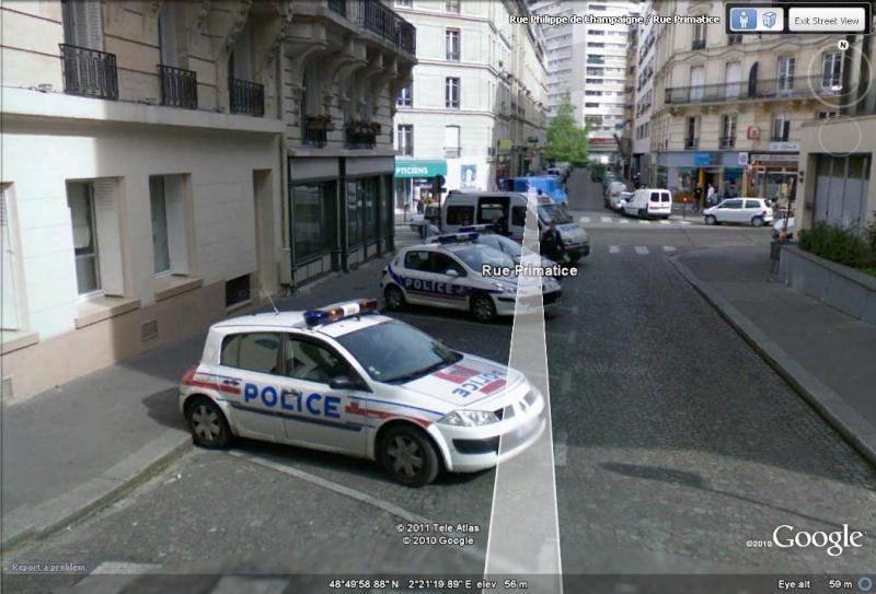 STREET VIEW : véhicules de police du monde - Page 6 Paris_10