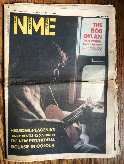 Dylan dans la presse - Page 9 Nme11