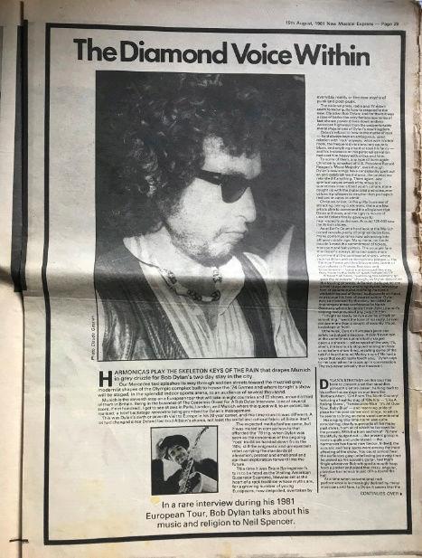 Dylan dans la presse - Page 9 Nme12