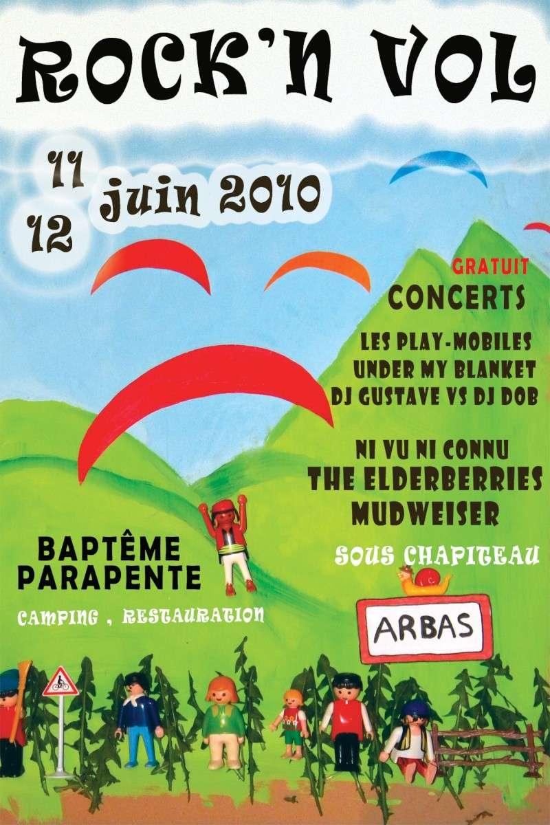 Festival rock'n Vol - parapente et rock Tractr10
