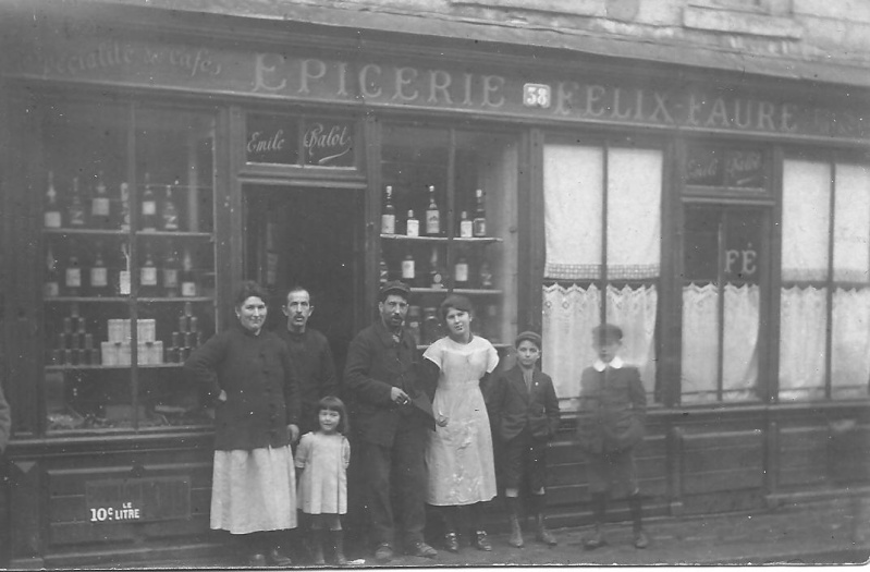 Épicerie rue Félix Faure 1910_a13