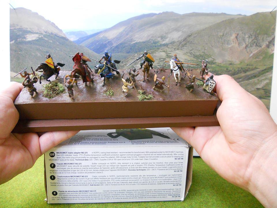 Diorama Almogávar del Bandoler Lle Paire 13466410