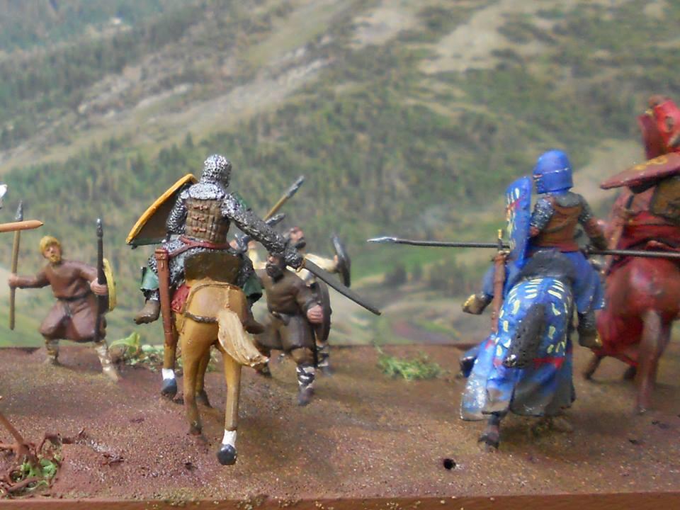 Diorama Almogávar del Bandoler Lle Paire Almosd10