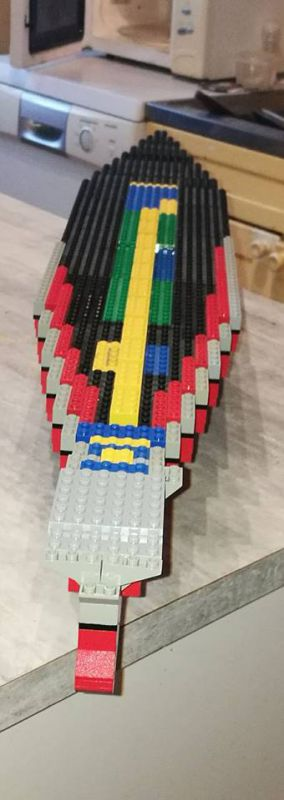 Porte avions en Lego CV05 Panthere 00310