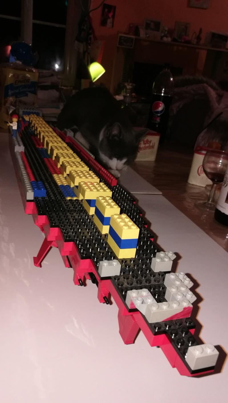 Porte avions en Lego CV05 Panthere 00810