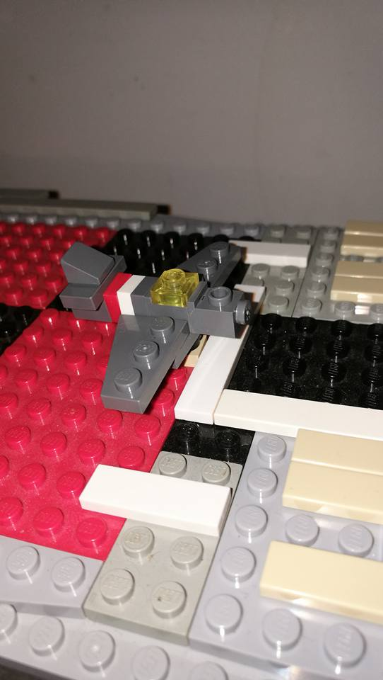 Porte avions en Lego CV05 Panthere 04110