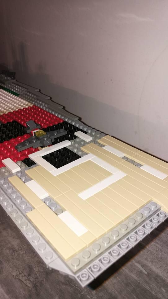 Porte avions en Lego CV05 Panthere 04210