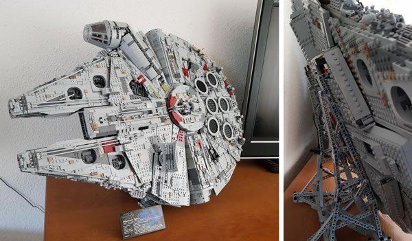 Porte avions en Lego CV05 Panthere 75192-10