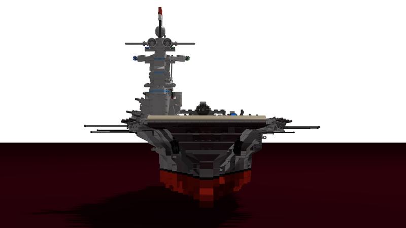 Porte avions en Lego CV05 Panthere Plan0110