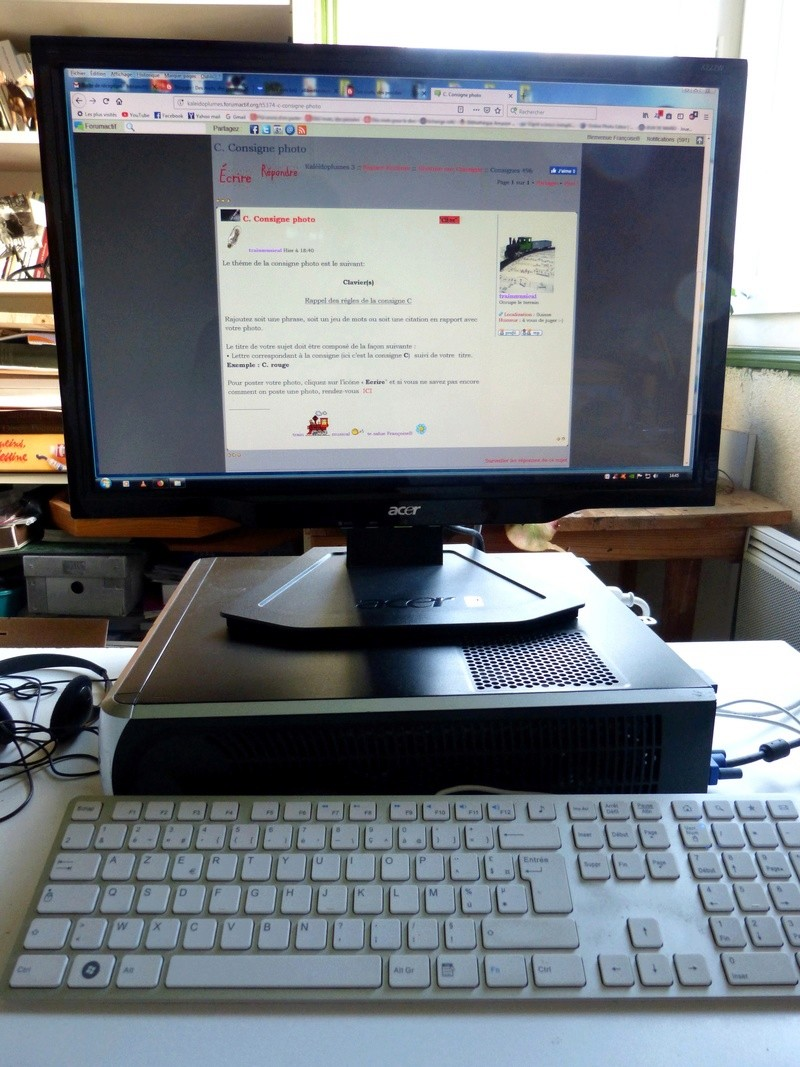 C. Mon clavier... Clavie12
