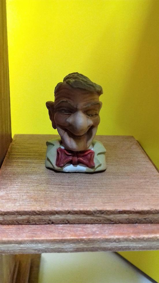 """Bustes """""""" Les Tontons Flingueurs """""""" - sculpté par JEAN - CLAUDE BESENYEI - 20180213"""