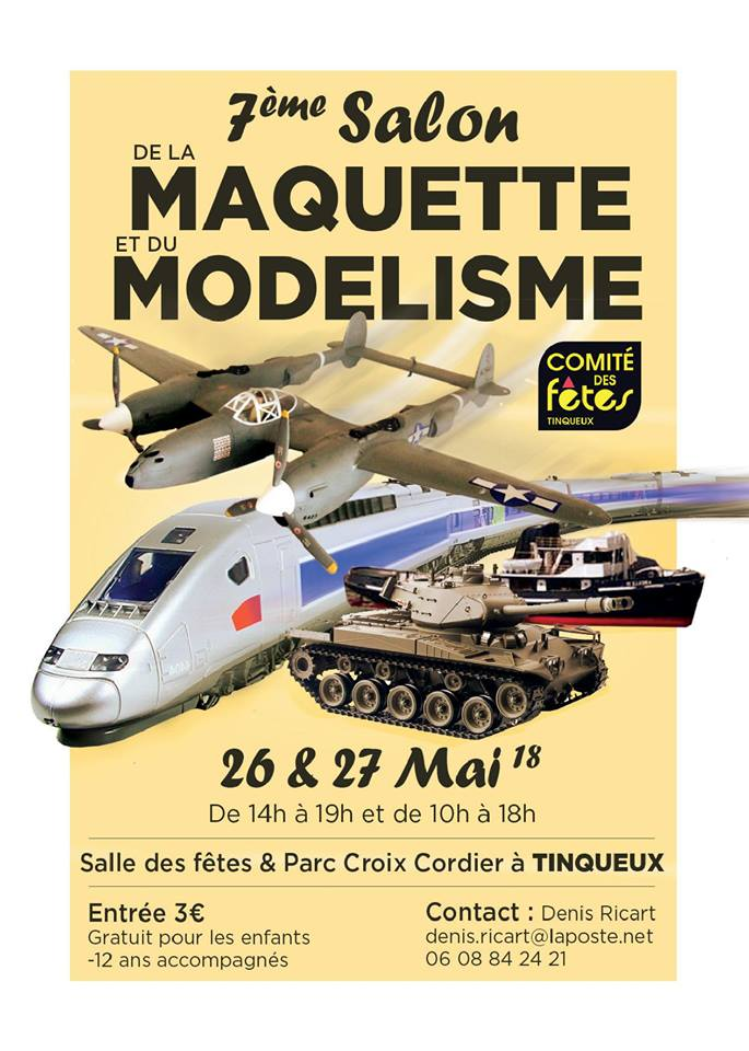 Expo Tinqueux 2018  !! ! !  26 &27 Mai - Page 2 26731410