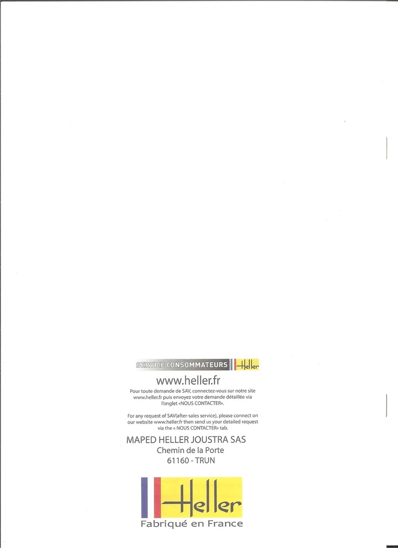 COFFRET LEGENDE FERGUSSON - (réf. 52323) - MAQUETTE HELLER - Heller38