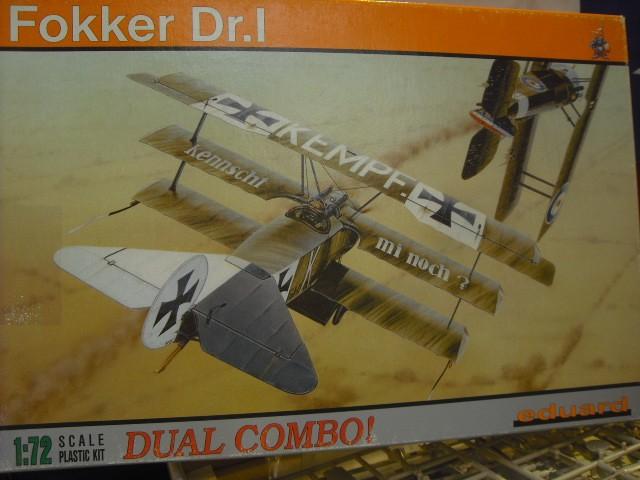 de chez EDUARD FOKKER Dr I Dual  au 1/72 Rinxen10