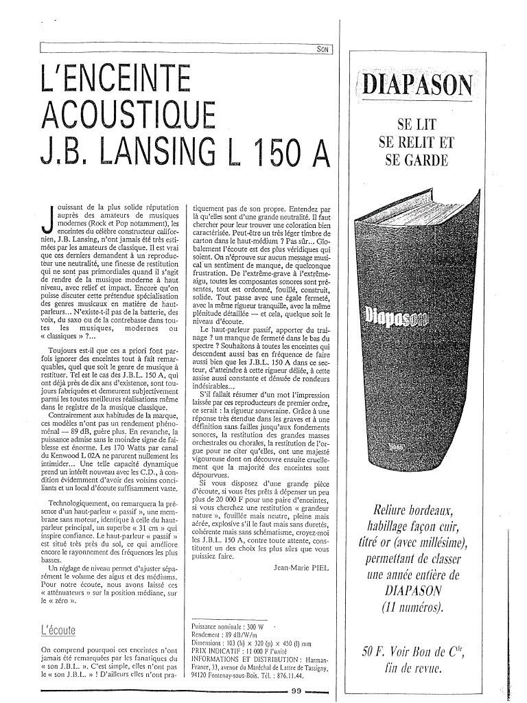 Modèle L150 Année 1979 Previe12