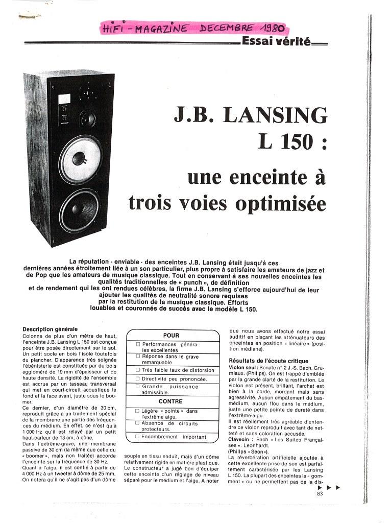 Modèle L150 Année 1979 Previe14