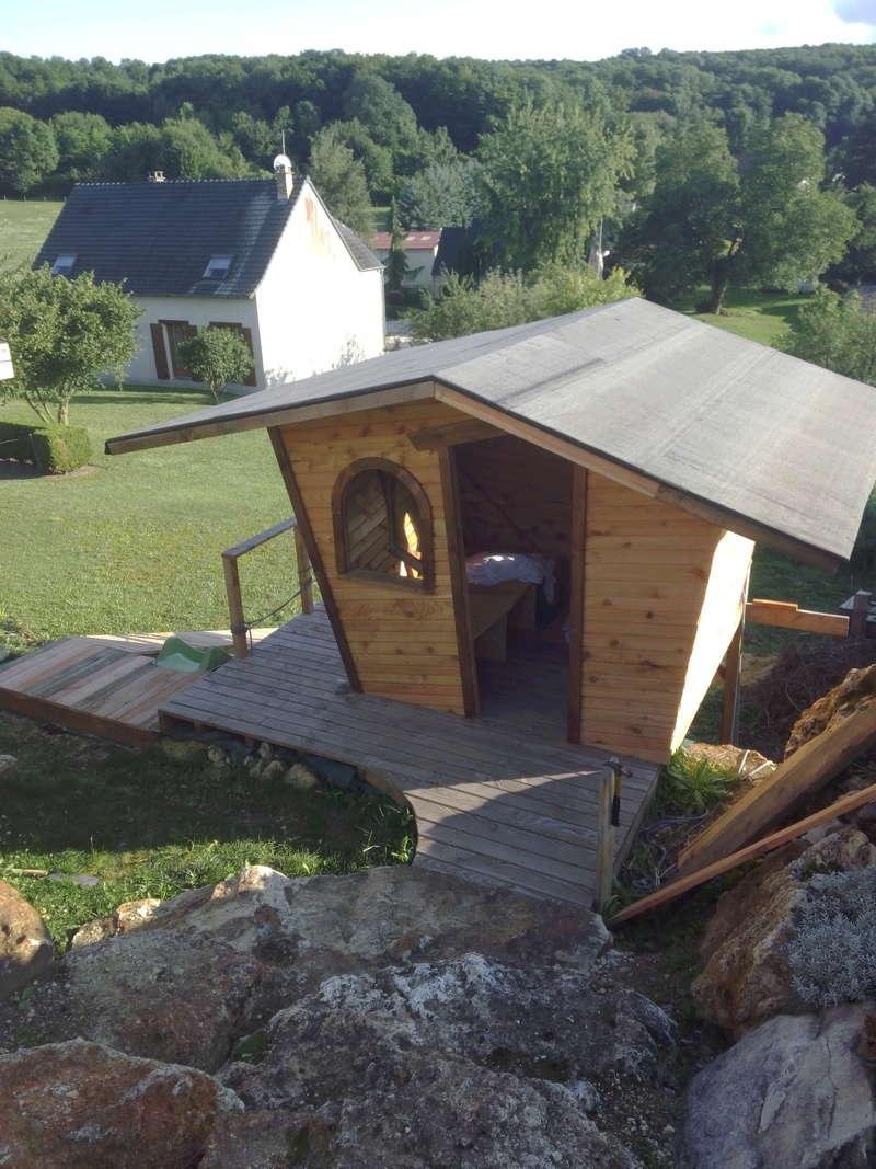 Projet de toboggant pour la cabane dans les arbres de mon fils, vos idées? - Page 3 Img_2011