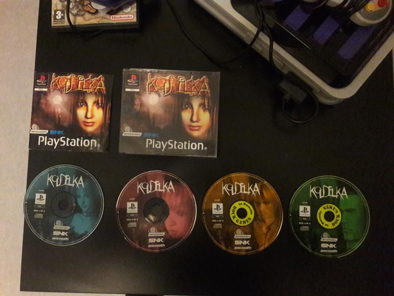 [EST] Koudelka PS1 Complet, DLC en boite The Witcher 3 PS4  20180510